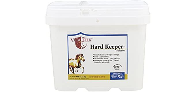 Vita Flex Hard Keeper Solution Horse Supplement - Horse Food for Weight Gain