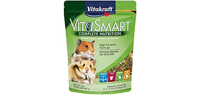 Vitakraft VitaSmart Hamster Food - Food for Rats