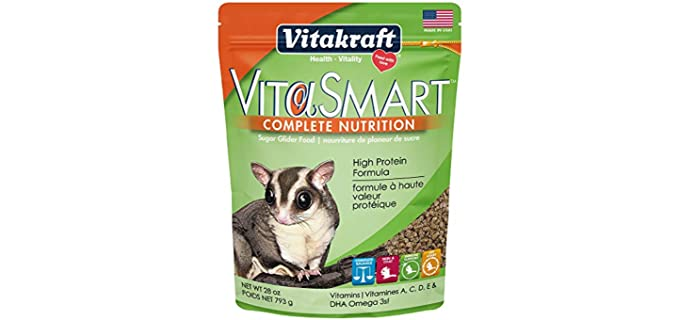 Vitakraft VitaSmart Complete Nutrition Sugar Glider Food - Sugar Glider Food Affordable