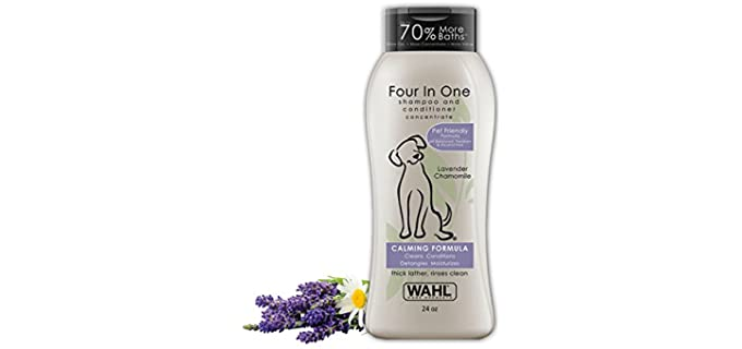 Wahl 4-in-1 Calming Pet Shampoo - Scented Dog Shampoo