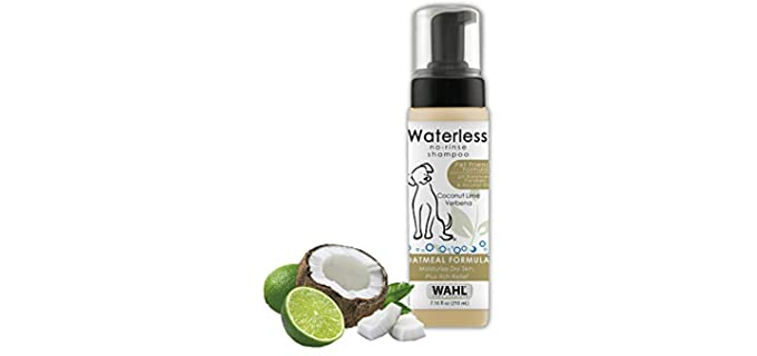 Wahl Pet-Friendly No-Rinse Shampoo - Fragrant Dog Shampoo