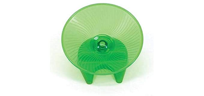 Ware Manufacturing Flying Saucer Exercise Wheel - Hedgehog Wheel