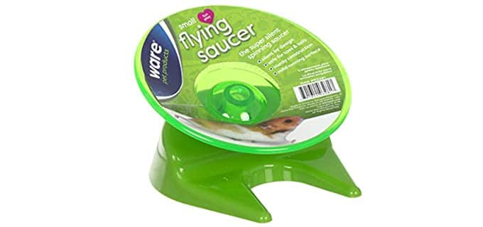 Ware Manufacturing Flying Saucer Exercise Wheel - Wheel for Hamsters