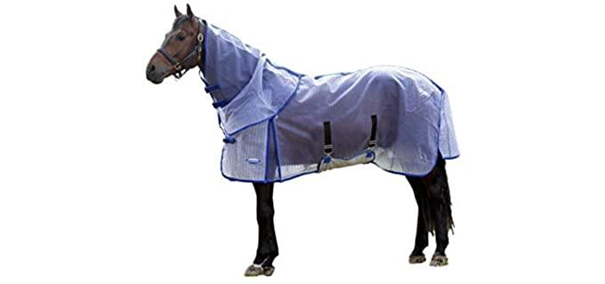 Weatherbeeta WB ComFiTec Ripshield Plus DetachNeck - Fly Sheet for Horses