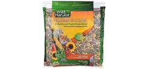 Wild Harvest Hamster and Gerbil Advanced Nutrition Diet - Food for Hamsters