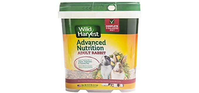 Wild Harvest Wh-83544 Advanced Nutrition Diet - Food For Rabbits