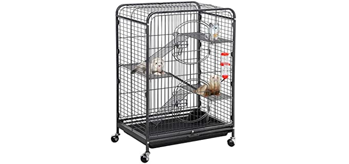 "Yaheetech 4-Level Indoor Ferret Cage - Rat""s Cage"