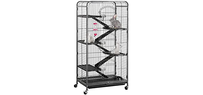 "Yaheetech 52"" Metal Chinchilla Cage - Cage for Chinchillas"