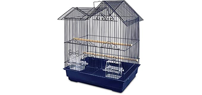 You and Me Parakeet Ranch House Cage - Cage for A Parakeet