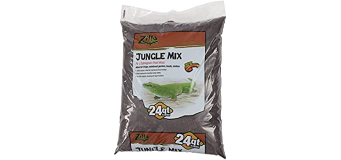 Zilla Jungle Mix Bedding - Bedding for Your Ball Python