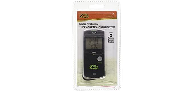 Zilla Terrarium Digital Thermometer - Reptile's Thermometer