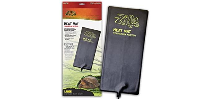 Zilla Heat Mat Terrarium Heater - Reptile Heat Pad