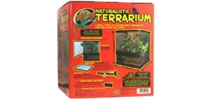 Zoo Med Naturalistic Terrarium - Enclosure for Corn Snakes