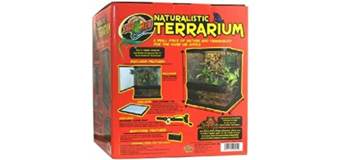 Zoo Med Naturalistic Terrarium - Enclosure for Corn Snakes