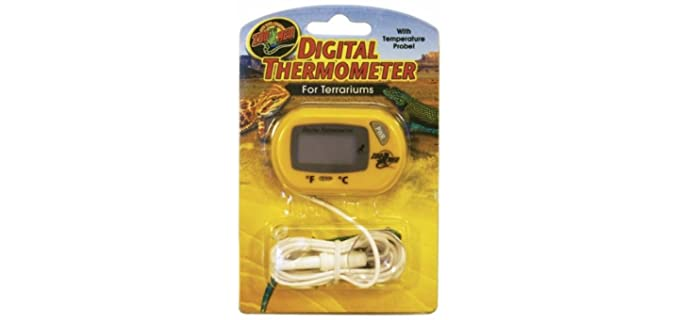 Zoo Med Digital Thermometer - Reptile's Thermometer