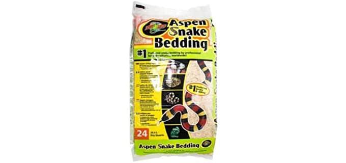 Zoo Med Aspen Snake Bedding - Bedding for Your Ball Python