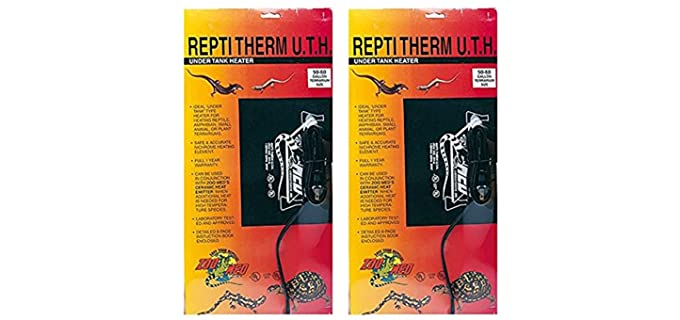 Zoo Med Repti Therm Under Tank Heater - Reptile Heat Pad