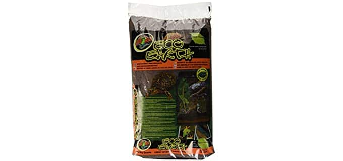 Zoo Med Eco Earth Loose Coconut Fiber Substrate - Substrate For Hermit Crabs