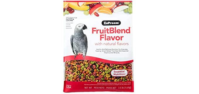 ZuPreem Fruit Blend Flavor - Bird Food