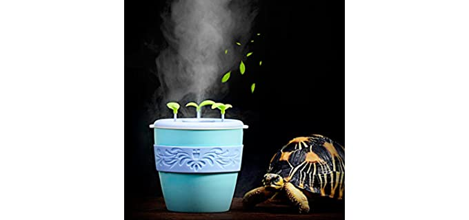 Pranovo Humidifying Fog Machine - Fogger and Humidifier for Reptiles