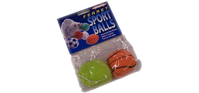 Marshall Sport Balls - Ferret Toy balls