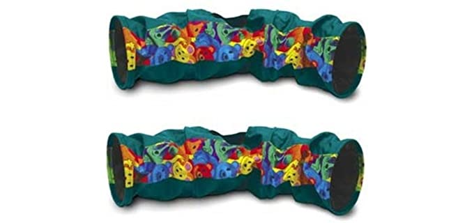 Super Pet 2 Pack - Crinkle Fun Tunnel  Ferret Toy