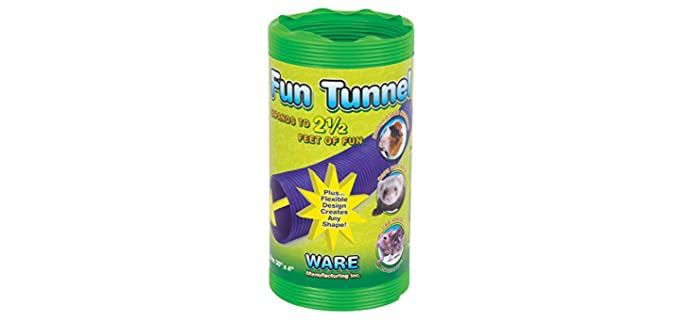 Ware Manufacturing Fun Tunnels - Tunnel Ferret Toy