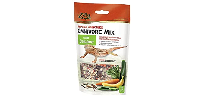 Zilla Reptile - Bearded Dragon Calcium Enriched Food