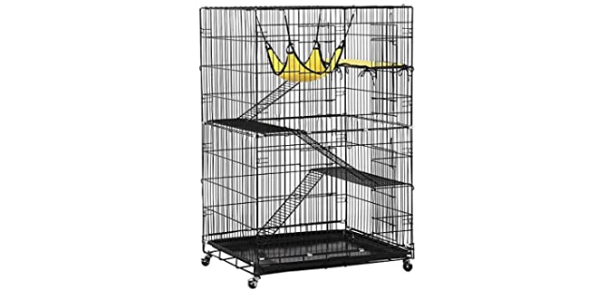 Yaheetech Collapsible - Cat Cage for Ferrets
