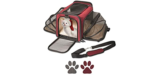 Pet Peppy Expandable - Carry Bag for Hamsters