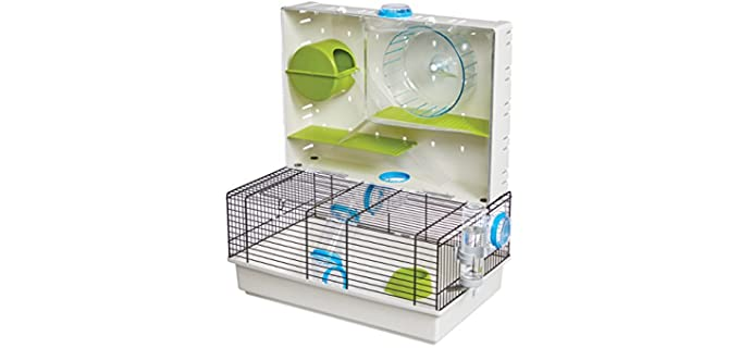 Midwest Critterville - Arcade Cage for Gerbils