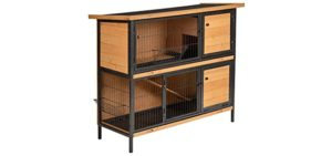 PawHut Metal Frame - Indoor Cage for Small Animals